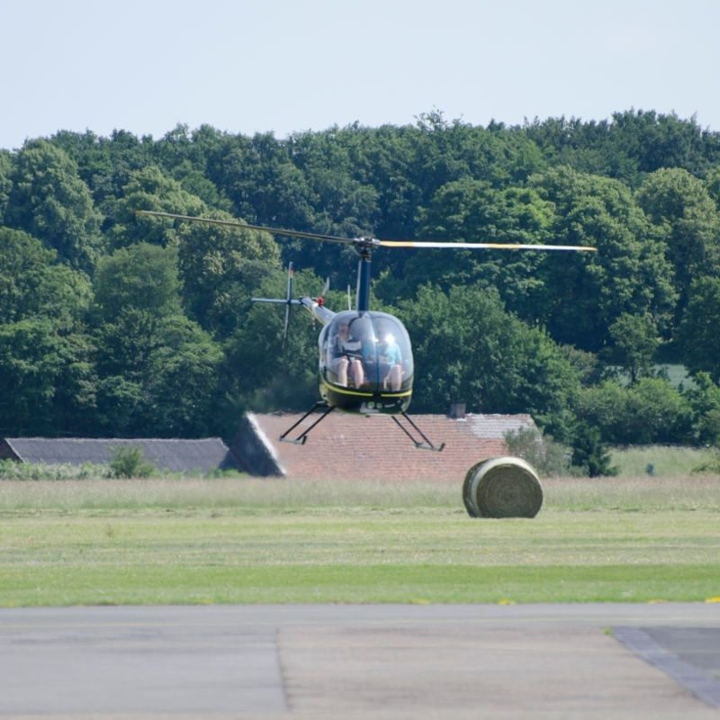 Hubschrauber selber fliegen - Raum Frankfurt a.M.