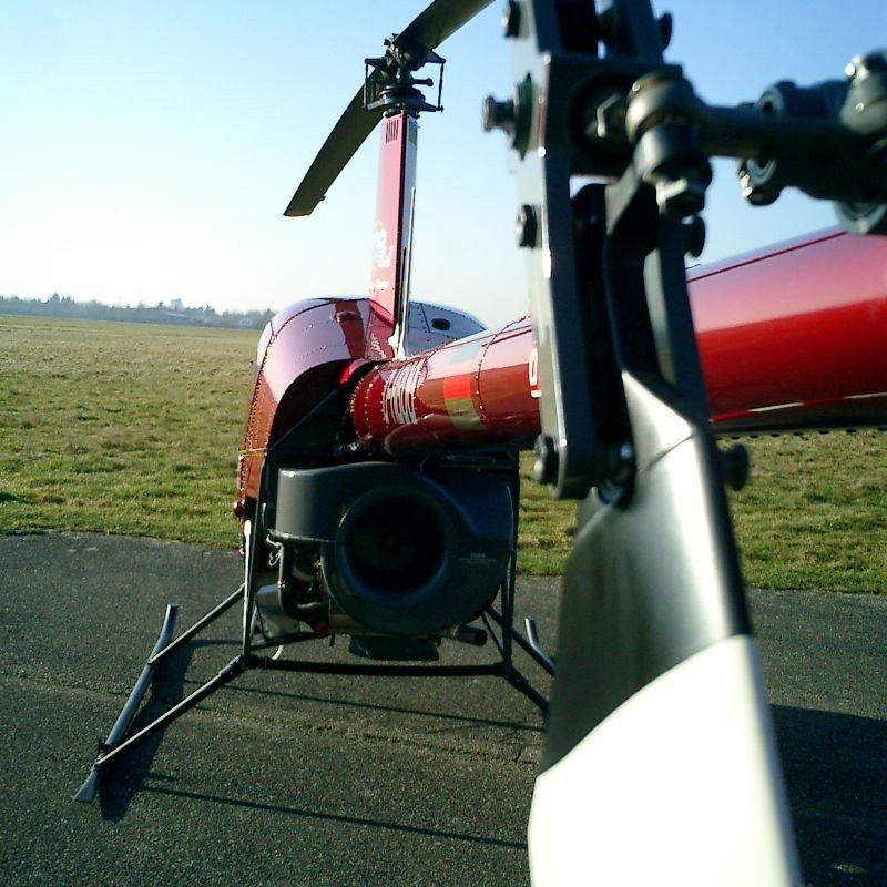 Hubschrauber selber fliegen - Ruhrgebiet