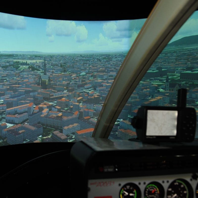 Hubschrauber-Simulator Bell 206 – 1 Stunde – Wien