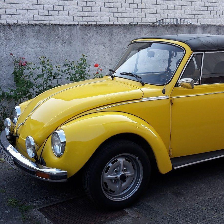 Käfer Cabrio fahren - Raum Mannheim