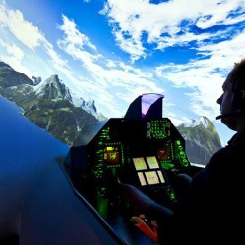 Kampfjet-Flugsimulator F 16 - Frankfurt am Main