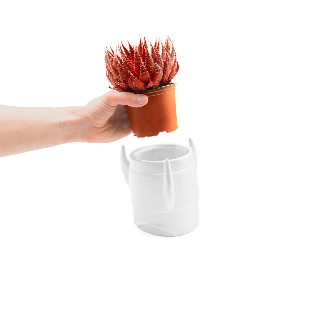 """Keramik-Blumentopf """"Rakete"""""""