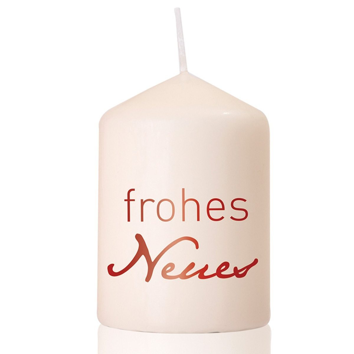 """Kerze """"Frohes Neues"""""""