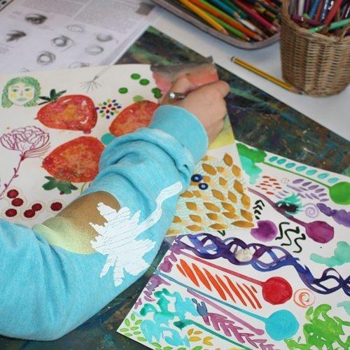 Kunstkurs für Kinder Leipzig