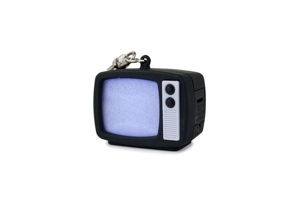 LED Schlüsselanhänger Retro-TV