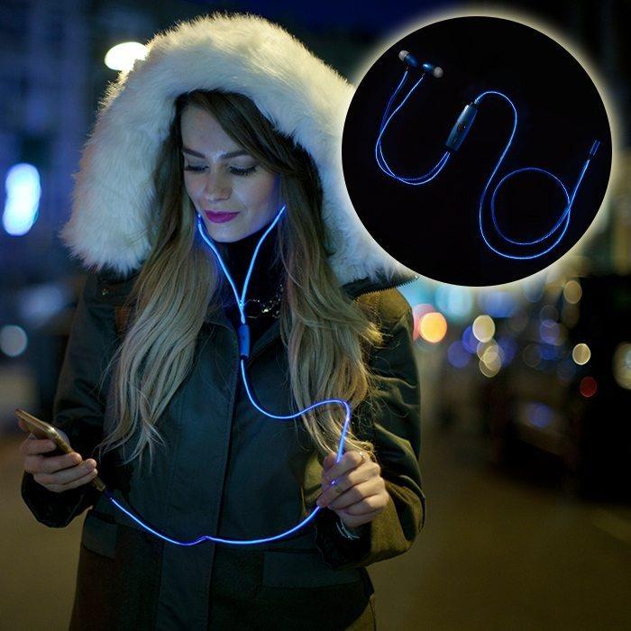 Leucht-Kopfhörer