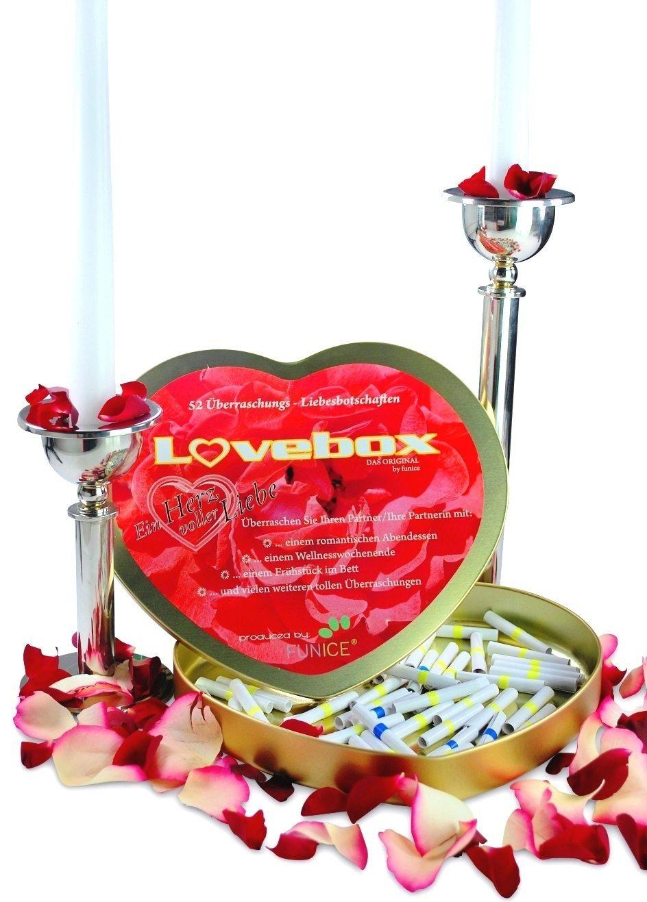 Liebesbox mit 52 Losen