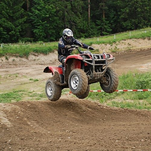 Motocross mit Quads - Raum Kühlungsborn