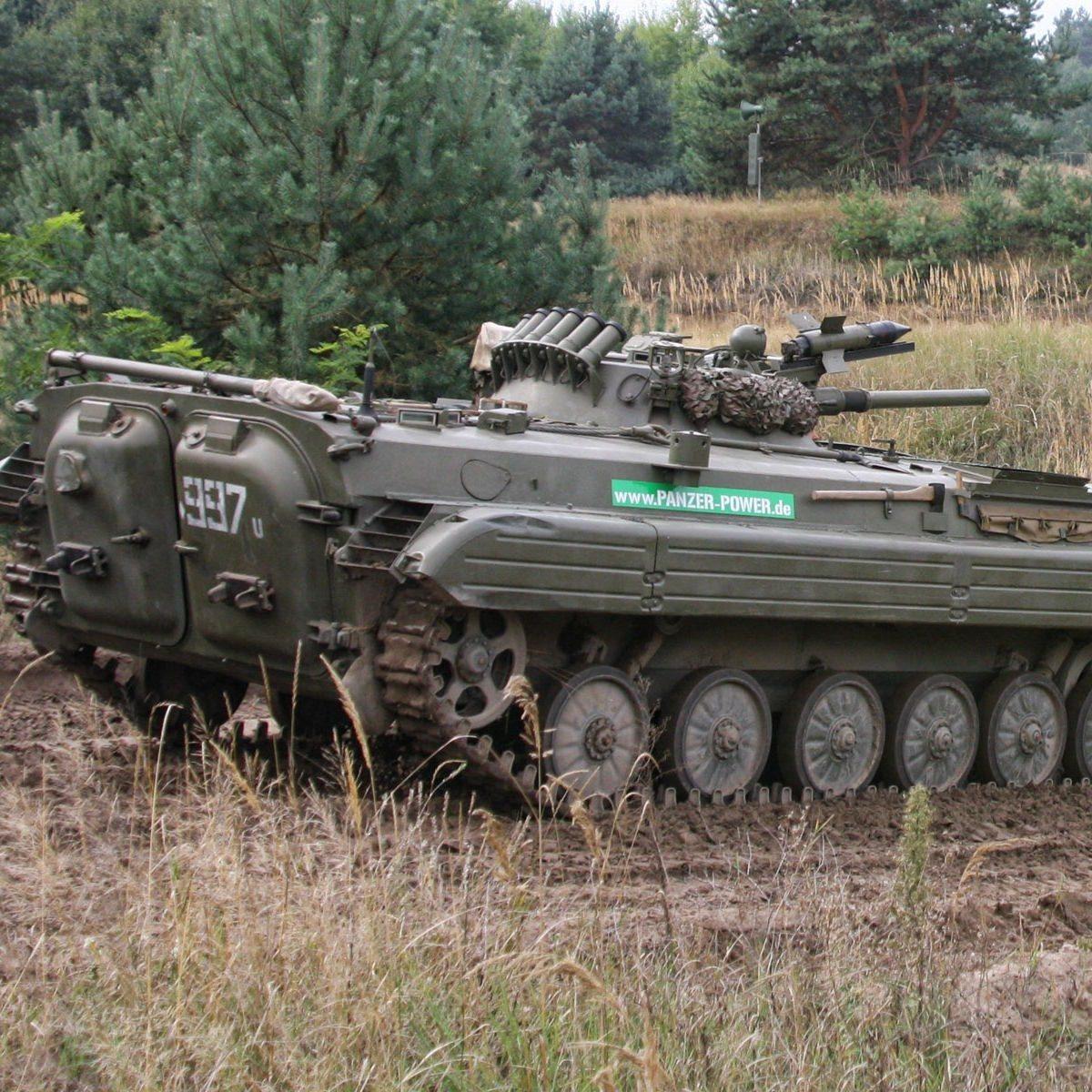 Panzer fahren - Raum Magdeburg