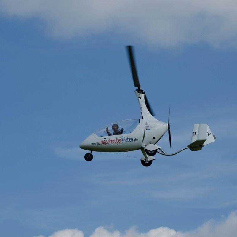 Parallelflug im Gyrocopter für 3 Bad Münstereifel