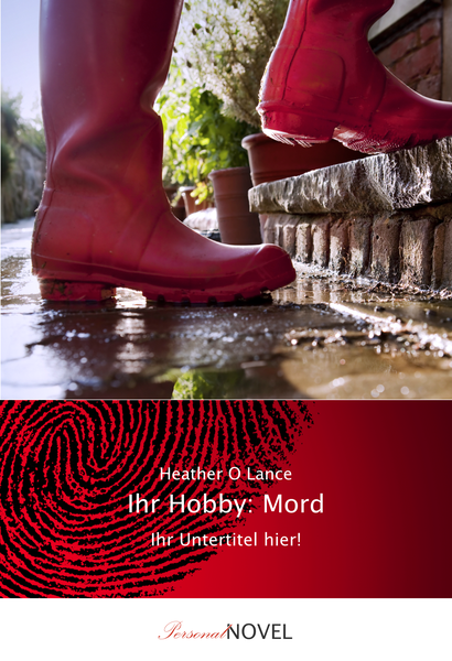 """Personalisiertes Buch """"Ihr Hobby: Mord"""""""