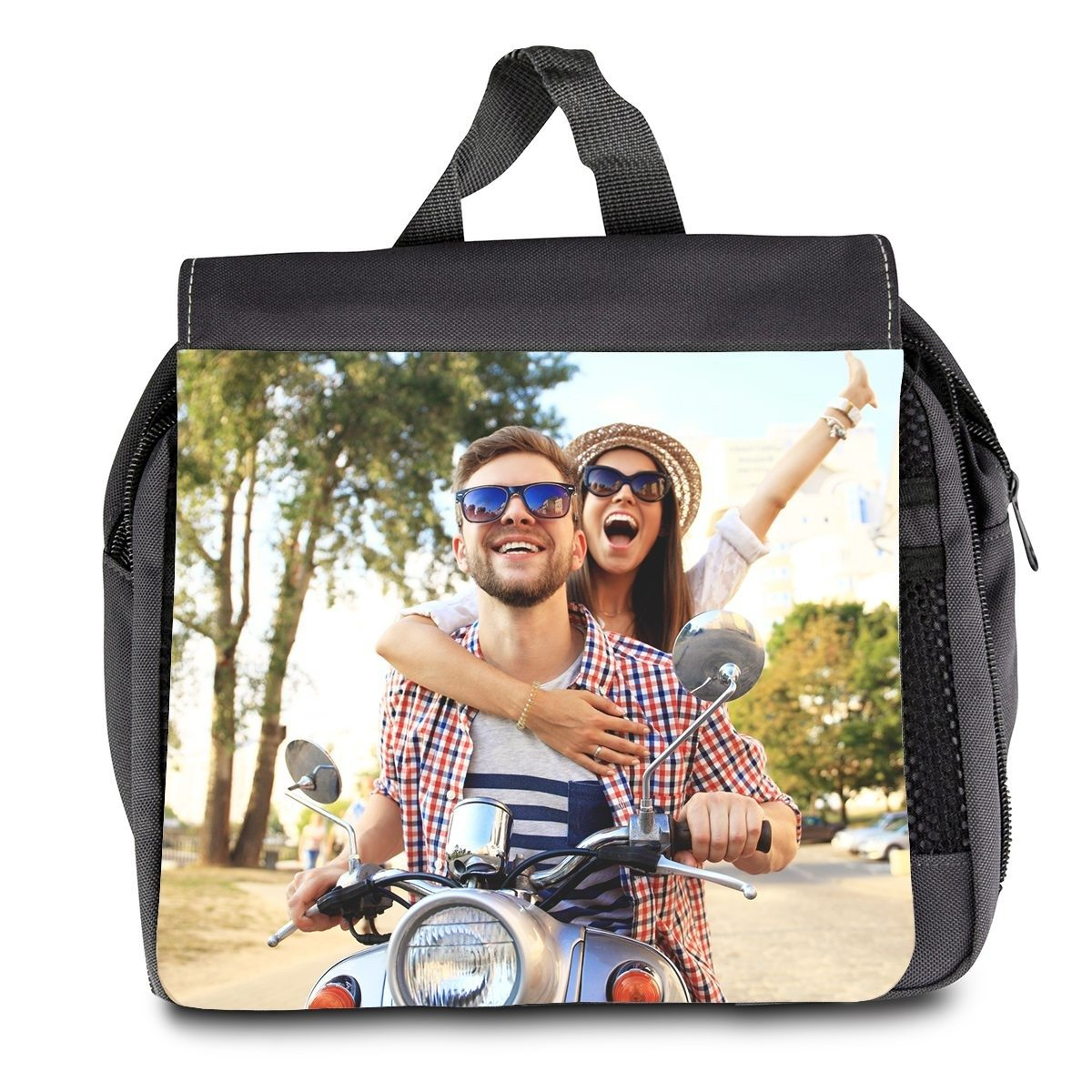 PERSONALIZED TOILETRY BAG WITH PHOTO