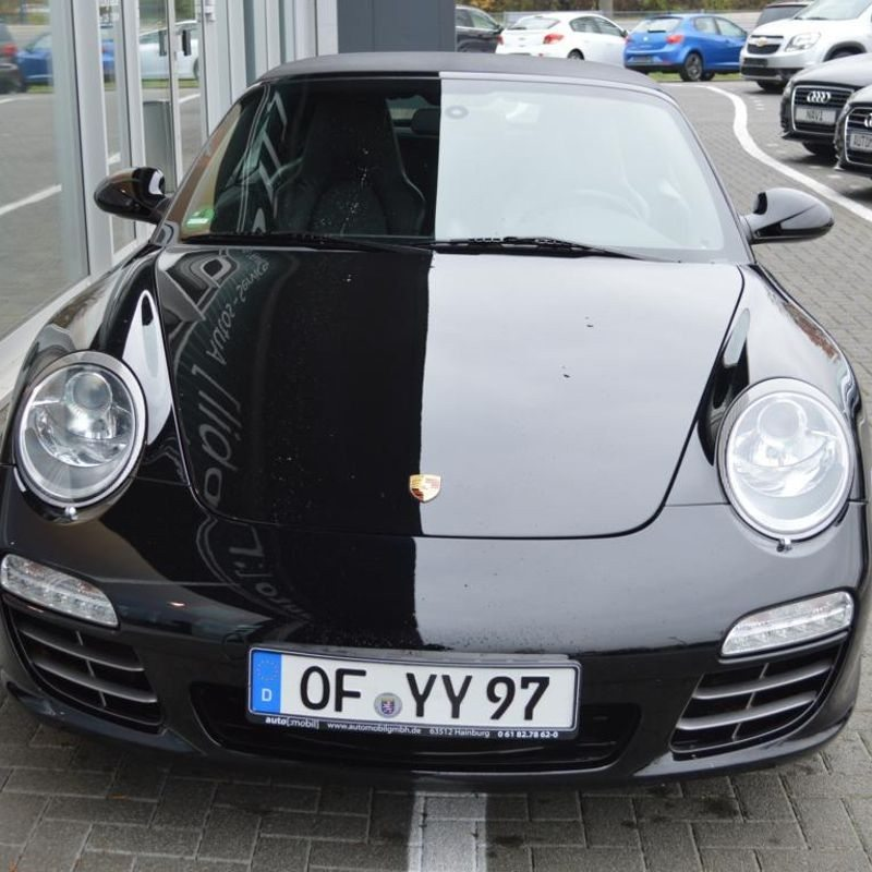 Porsche 911 Carrera Cabrio fahren - Hainburg