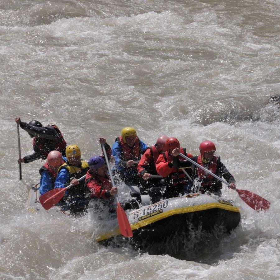 Rafting -Tour - Östliche Chiemgauer Alpen