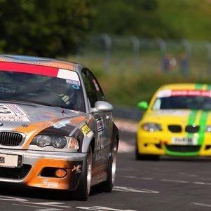 Rennstreckentraining im BMW M3 - Hockenheimring