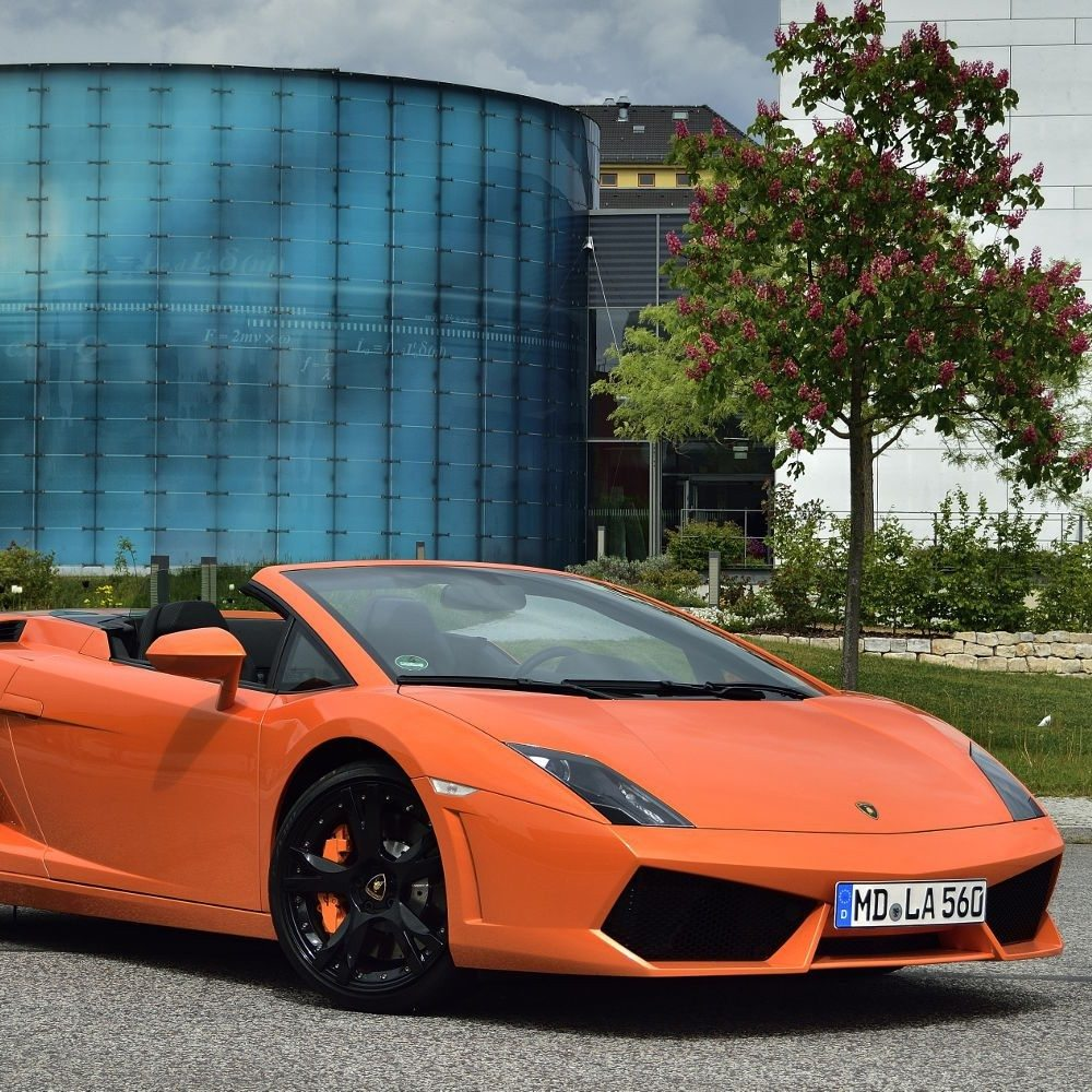 Renntaxi mit Lamborghini Gallardo  - Spreewaldring