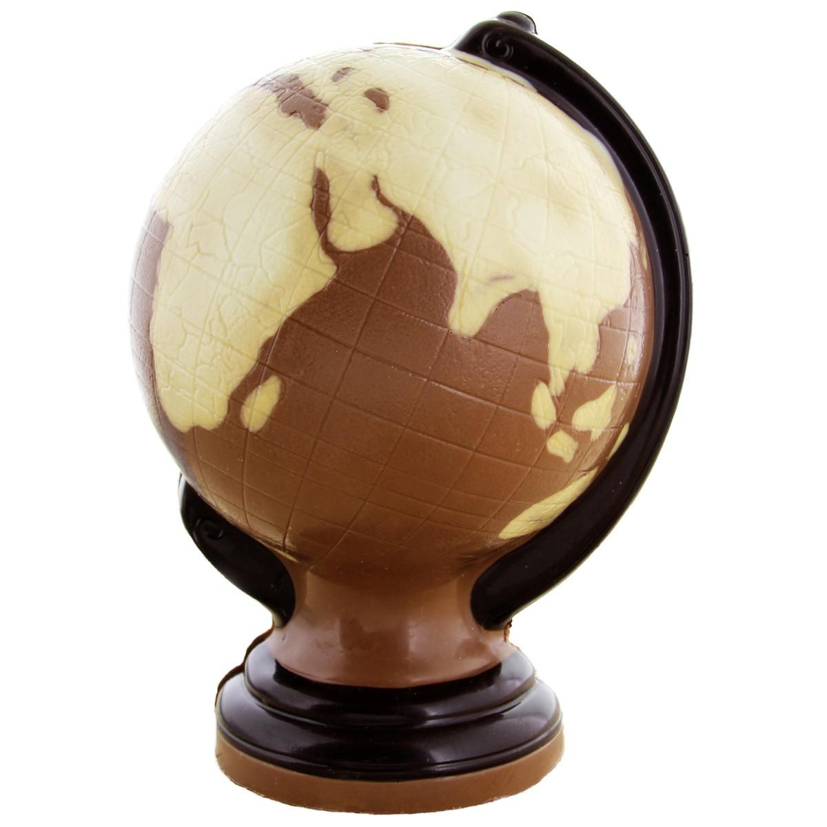 Schokoladen-Globus von Hussel