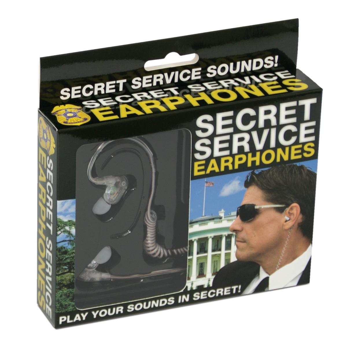Secret Service Kopfhörer