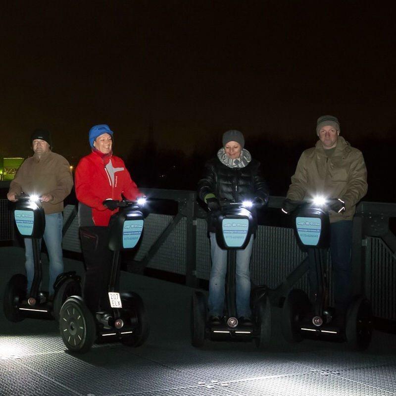 Segway-Tour bei Nacht - Raum Herten