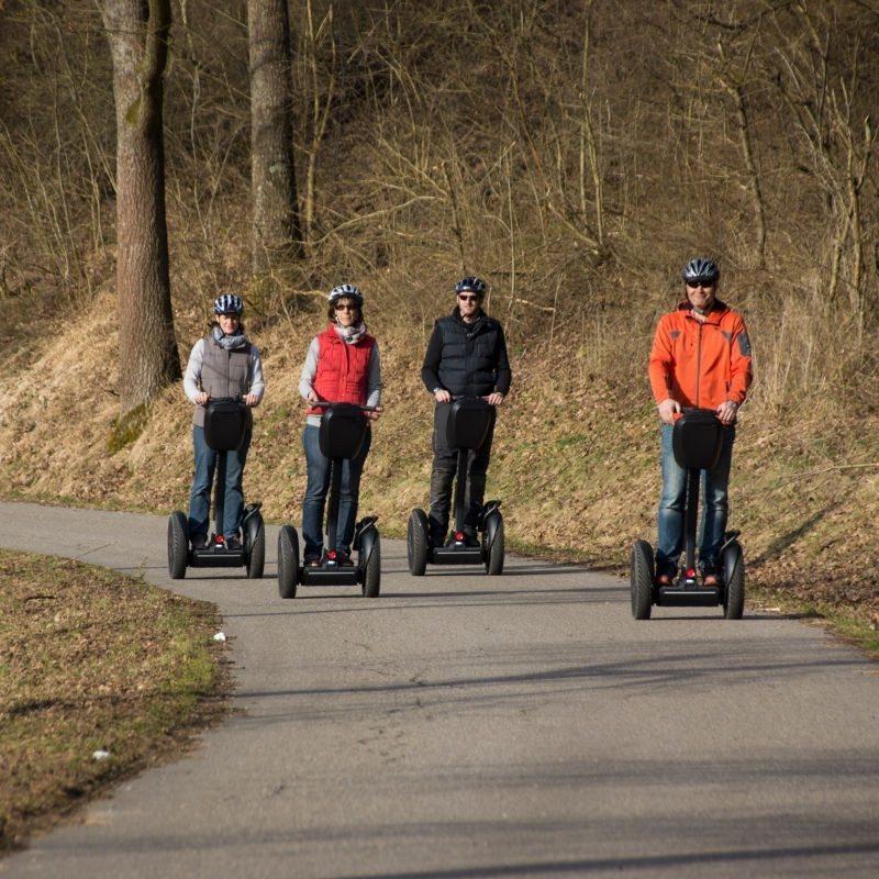 Segway-Tour - Raum Heilbronn