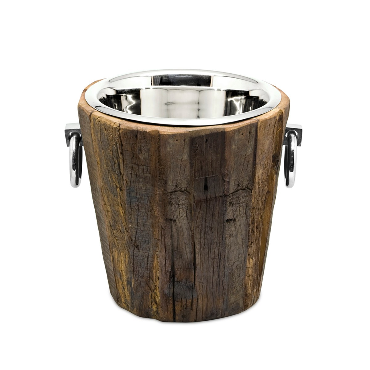 Sektkühler aus Holz