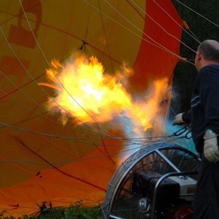 Sonnenaufgangsfahrt im Ballon - Raum Ansbachim Ballon - Raum Lichtenfels