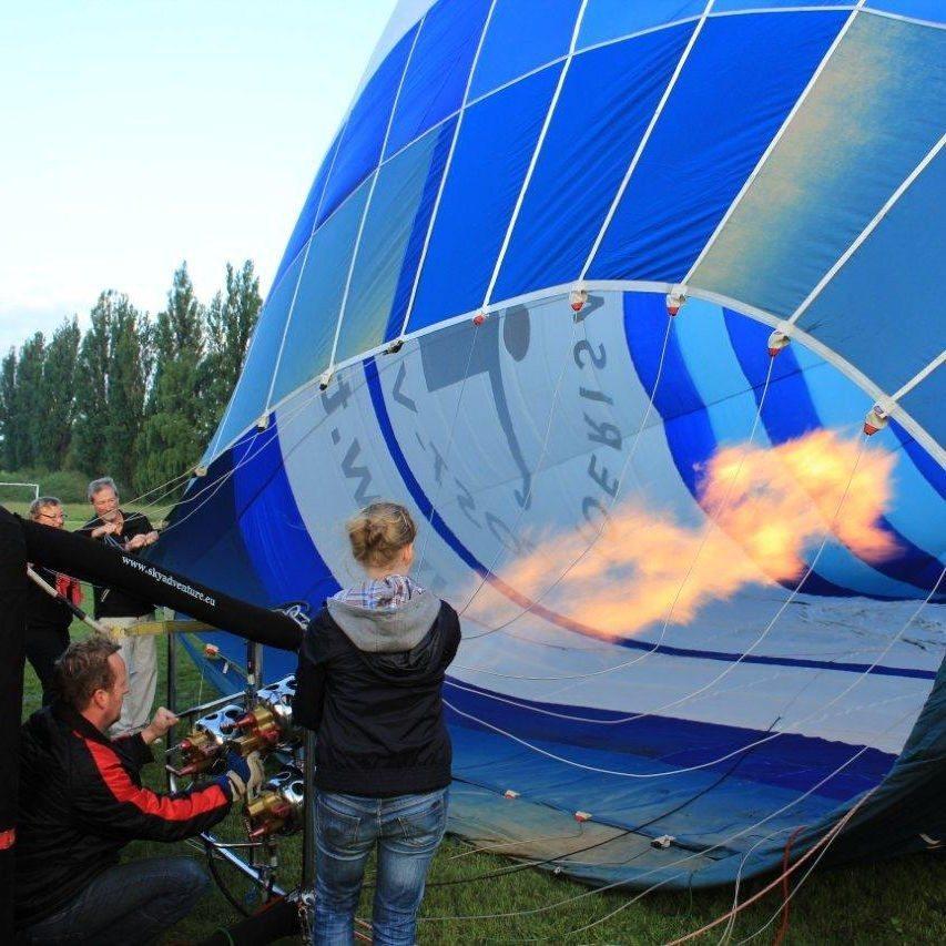 Sonnenaufgangsfahrt im Ballon - Raum Kronach