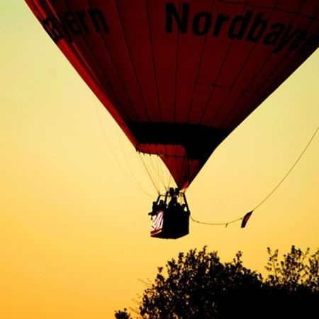 Sonnenuntergangsfahrt im Ballon - Raum Ansbach