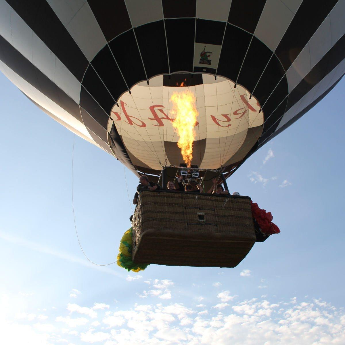 Sonnenuntergangsfahrt im Ballon - Raum Schwandorf