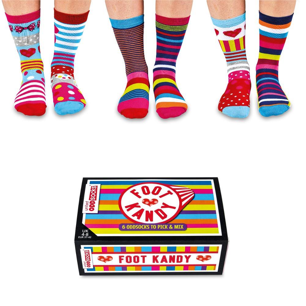 """Süßes Sockenset """"Candy"""""""