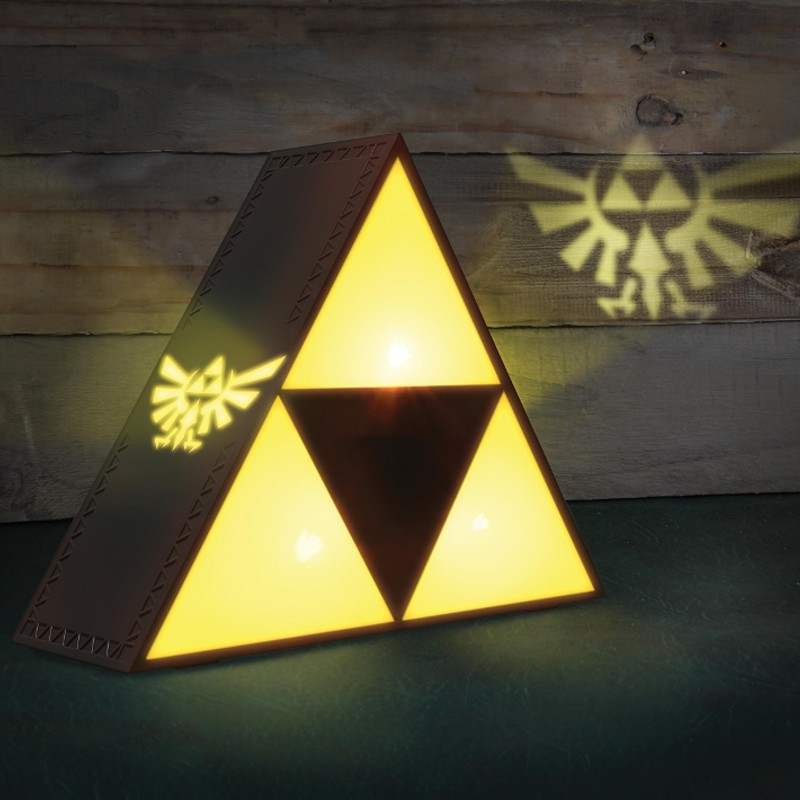 "The Legend of Zelda: ""Triforce""-Lampe"