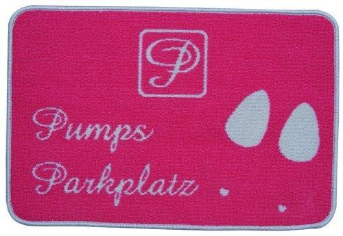 """Tussi on Tour Home Fußmatte """"Pumpsparkplatz"""""""
