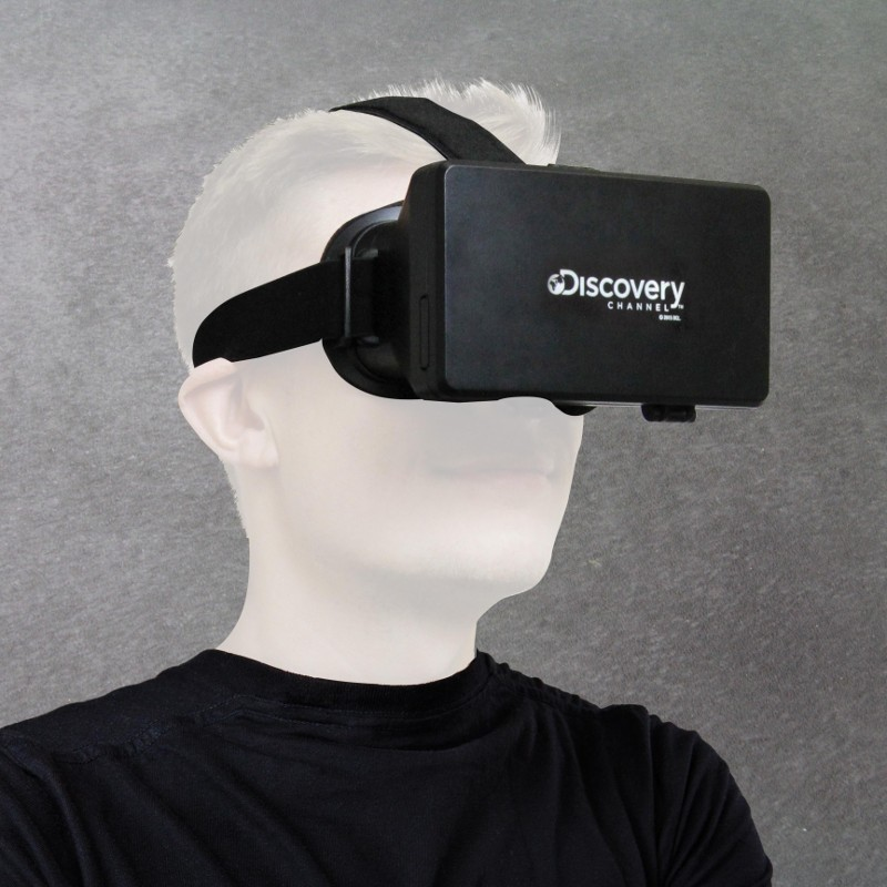"Virtual-Reality-Brille ""Discovery Channel"""