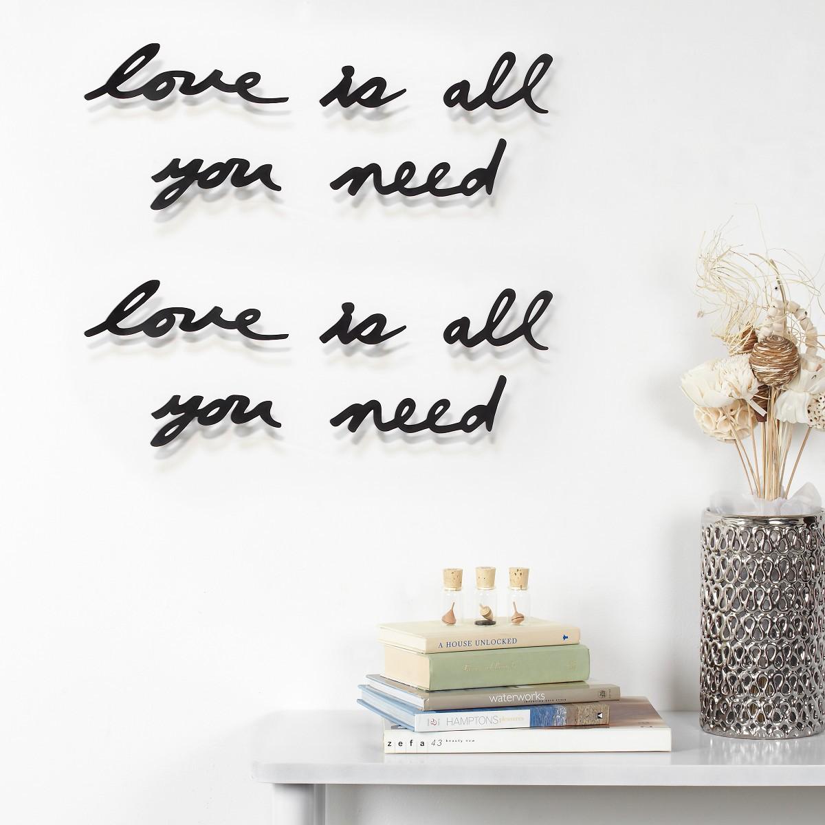 """Wandbild """"Love"""""""