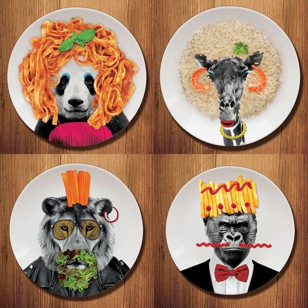 Wild Dining - Teller für Partylöwen