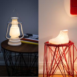 Außergewöhnliche Tischlampe