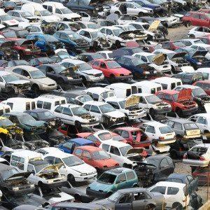 Auto zertrümmern – Lüdenscheid