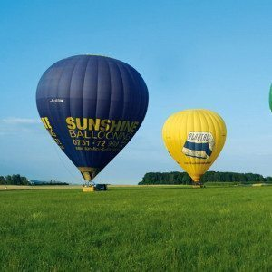 Ballonfahren - Raum Augsburg