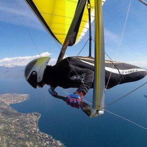 Drachen-Tandemflug am Gardasee