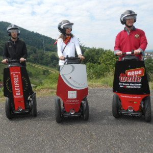 Erlebnis Segway - Tour de Reben - Baden-Baden