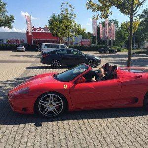 Ferrari 360 Spider fahren - Bremen