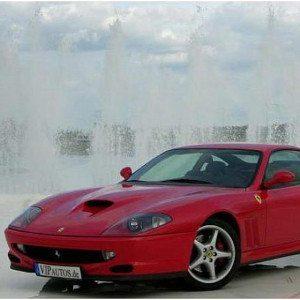 Ferrari-550 Maranello fahren - Hannover