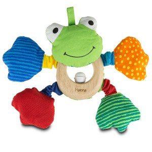 Frosch-Greifling mit Namen