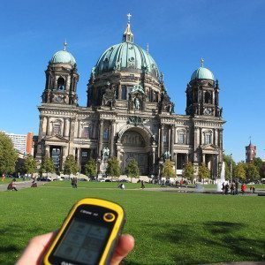 Geocaching-Schatzsuche - bis zu 20 Personen - Berlin