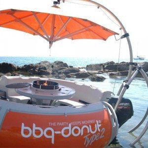 Grillparty im BBQ-Donut Grillboot für bis zu 8 Personen – Berlin