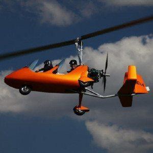 Gyrocopter-Rundflug über den Odenwald - Spechbach