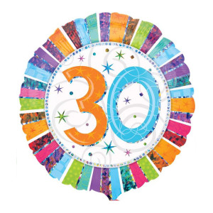 "Helium-Luftballon ""30. Geburtstag"""