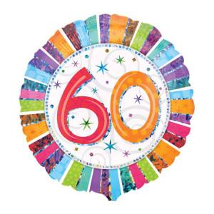 "Helium-Luftballon ""60. Geburtstag"""