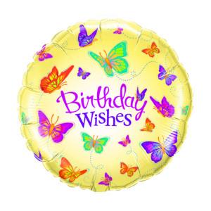 "Helium-Luftballon ""Birthday Wishes"""