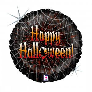 Helium-Luftballon Halloween-Spinnennetz